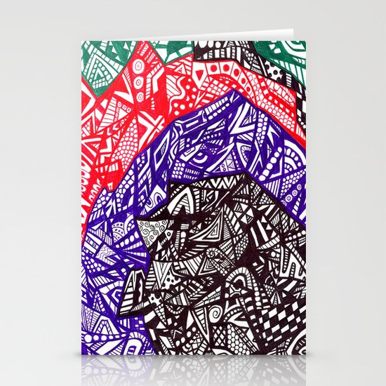 Shell out Stationery Cards