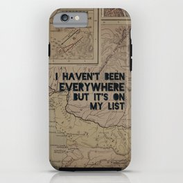 Everywhere iPhone Case