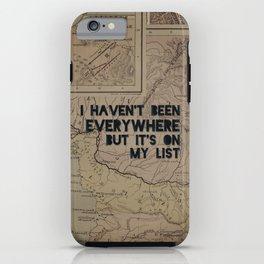 Everywhere iPhone Case