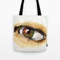 study Tote Bags featuring Study by Kendall Brier
