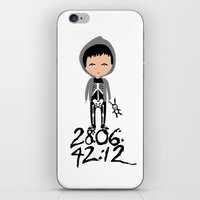 donnie darko iPhone & iPod Skins featuring Donnie Darko by Creo tu mundo
