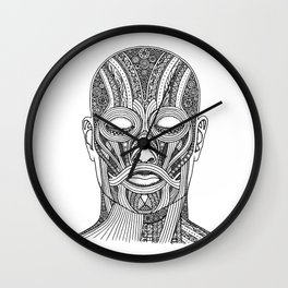 Wedding Face Wall Clock