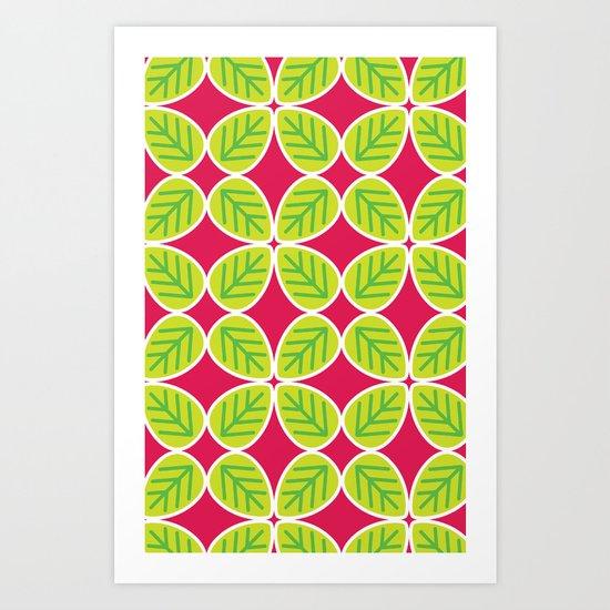 Primrose Collection 4 Art Print