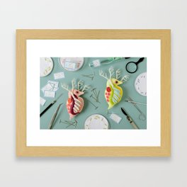 Giant Daphnia Laboratory Framed Art Print