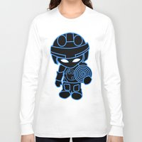 tron Long Sleeve T-shirts featuring Mini Tron by thomasalbany