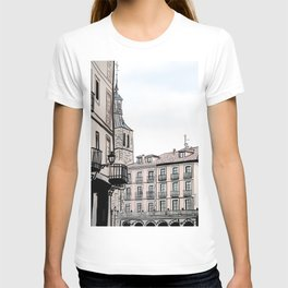 Major Square of Segovia Drawing in Spain T-shirt