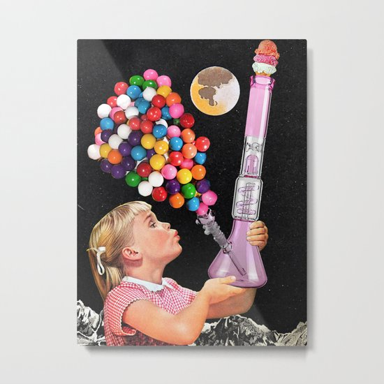 Bong for Kids Metal Print