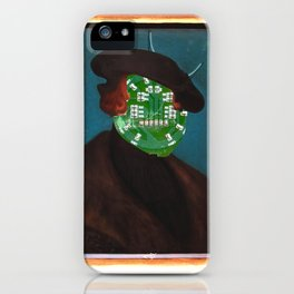 The Painting Collection Circuit Collage iPhone Case