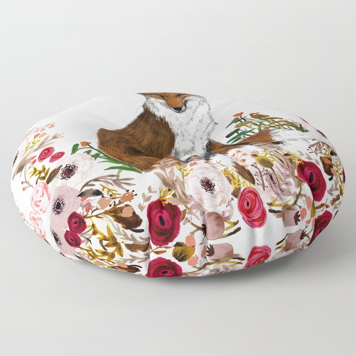 Sleepy Rose Floor Pillow