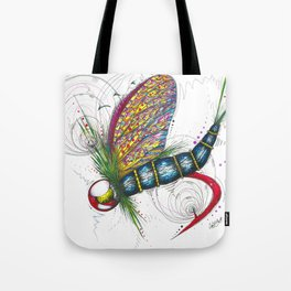 Mayfly Madness Tote Bag
