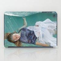 mermaid iPad Cases featuring Mermaid  by Mary Kilbreath
