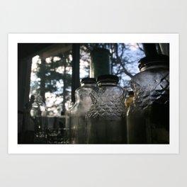 glass Art Print
