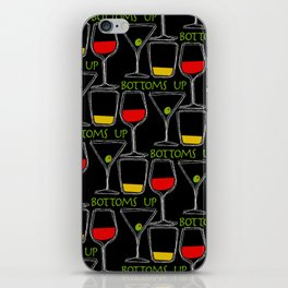 Bottoms Up iPhone Skin