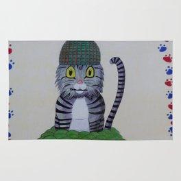 Grenade Kitty Rug