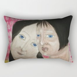 I don't want to be your enemy Rectangular Pillow