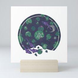 Amongst the Lilypads Mini Art Print