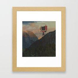 Our National Parks Framed Art Print