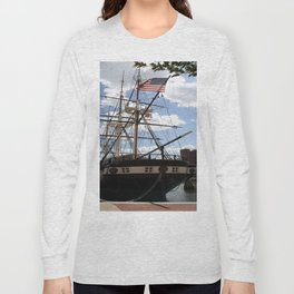 Old Glory - USS Constellation Long Sleeve T-shirt