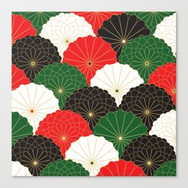 Japanese Chrysanthemum Canvas Print