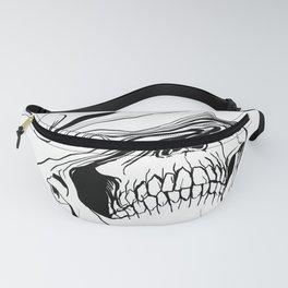 Skull (Liquify) Fanny Pack