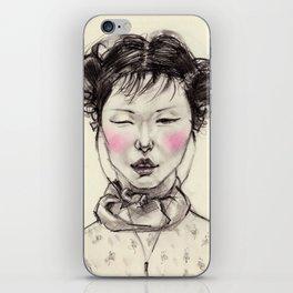 Chinese Girl iPhone Skin