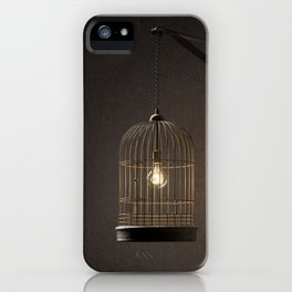 Idea in a cage iPhone Case