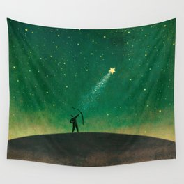 Star Archer Wall Tapestry