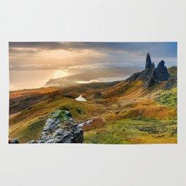 Scotland Scenic Rolling Hills Landscape Rug