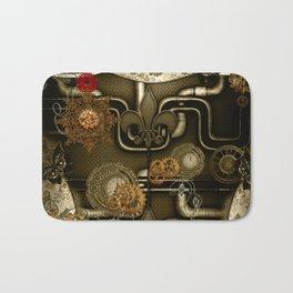 Wonderful noble steampunk design Bath Mat