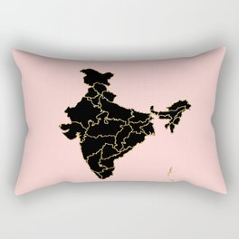 India map Rectangular Pillow