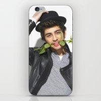 zayn malik iPhone & iPod Skins featuring Zayn Malik by Sierra Ferrell