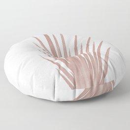 pink grass print  Floor Pillow