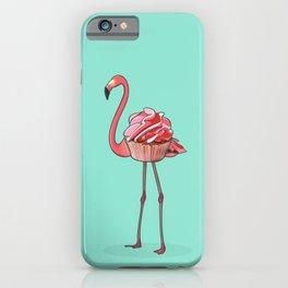 Flamingo Cupcake iPhone Case
