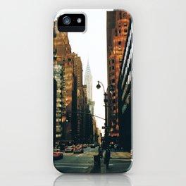 Reaching Chrysler - 2002 iPhone Case