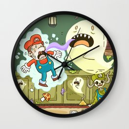 Super Mario Party Wall Clock