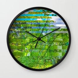 Landscape of My Heart (segment 1) Wall Clock