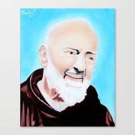 San Pio Canvas Print