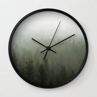 office Wall Clocks featuring Step Into My Office by Tordis Kayma