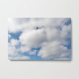 clouds of cotton Metal Print