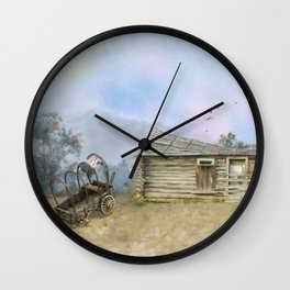 Old West Wall Clock