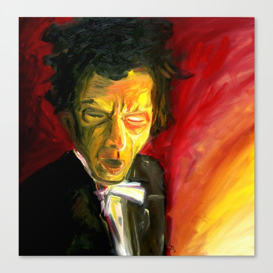 Mr. Waits Canvas Print