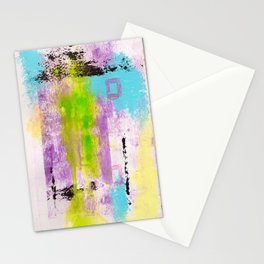 Abstract Life Stationery Cards