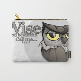 OWL! Wise and beautiful Carry-All Pouch