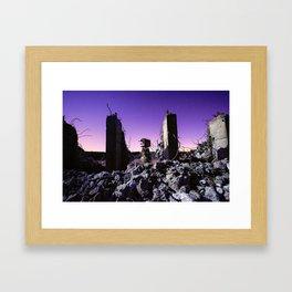 demolished Framed Art Print