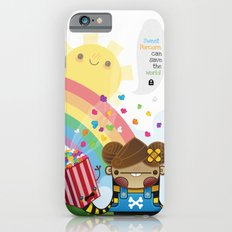 PopCorn can save the world iPhone 6s Slim Case