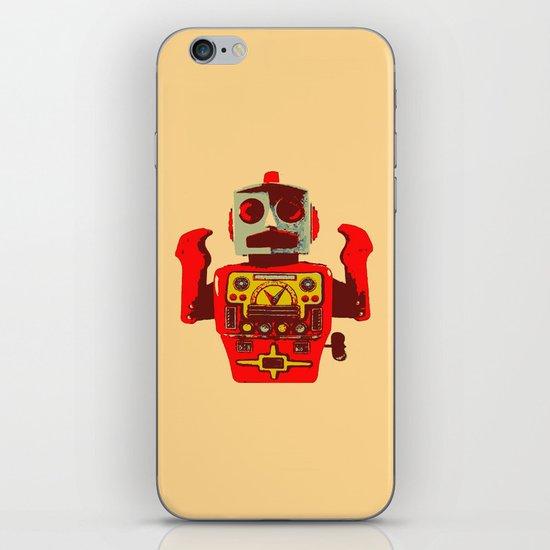 Robot II iPhone Skin