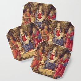Botticelli - Madonna With Saints Coaster