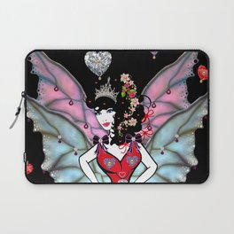 The Queen of hearts Fairy Laptop Sleeve