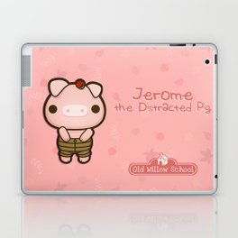 Jerome the Distracted Pig Laptop & iPad Skin