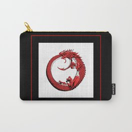 The Wyrm Turned Red Carry-All Pouch